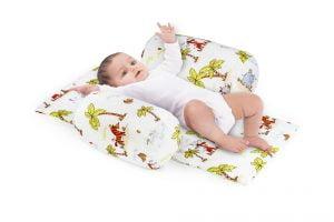 Suport de siguranta cu paturica impermeabila pentru bebelusi model Jungle