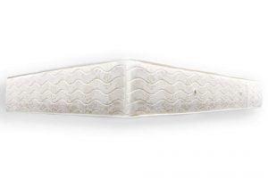 Saltea clasica Somnart Clasic ProConfort 90x200x25cm super-ortopedica cu plasa de arcuri, 2 fete, nerulata, fermitate medie