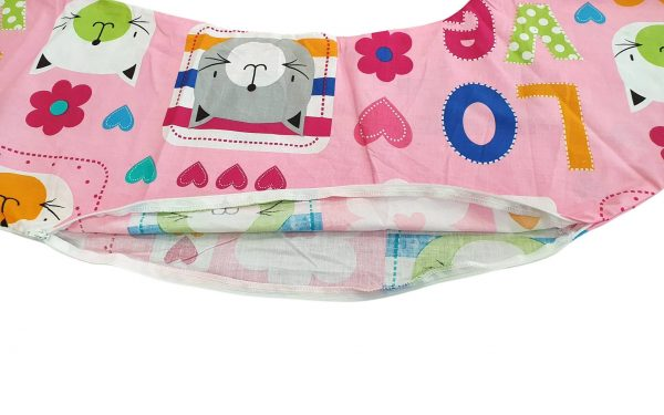 HUSA aditionala pentru Perna de gravide Mami bumbac model Pisicute