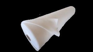 Protectiv hidrofob 110 – material netesut poliester hidrofobizat pentru articole medicale, rola 400mp