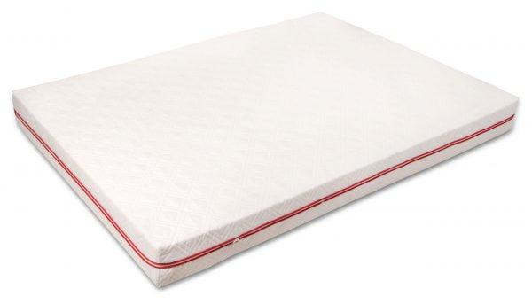 Saltea hipoalergica Somnart 160x200x17 cm, 15+2cm spuma poliuretanica cu memorie, husa detasabila cu fermoar, fermitate medie
