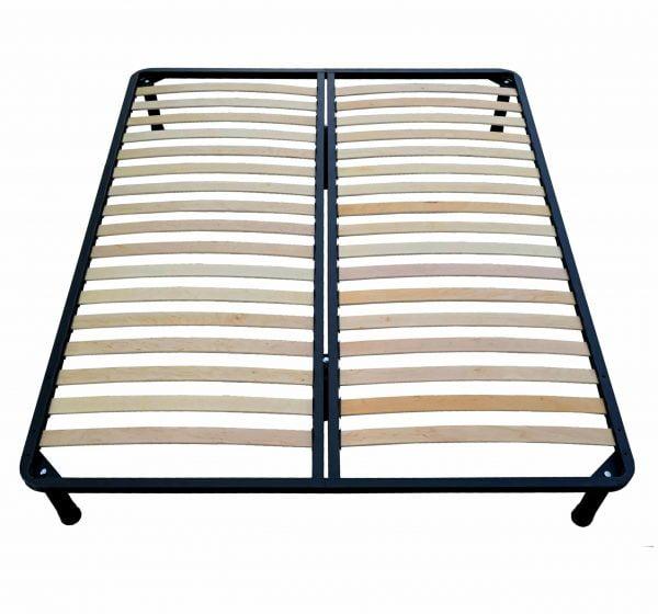 Somiera rabatabila de pat Metalica Premium – 140×190 cm