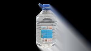 Dezinfectant virucid de maini bidon PET 5 litri, 75% alcool, avizat virucid, bactericid si fungicid