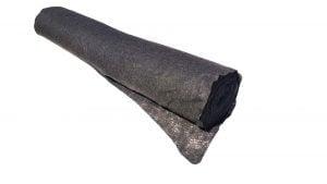 Geotextil Terasin N/S 110 gr/mp, latime 1,5 m, lungime 100 m, 150 mp, negru
