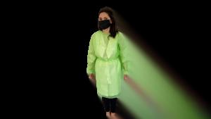 Halat polipropilena unica folosinta verde, 40 gr/mp – L