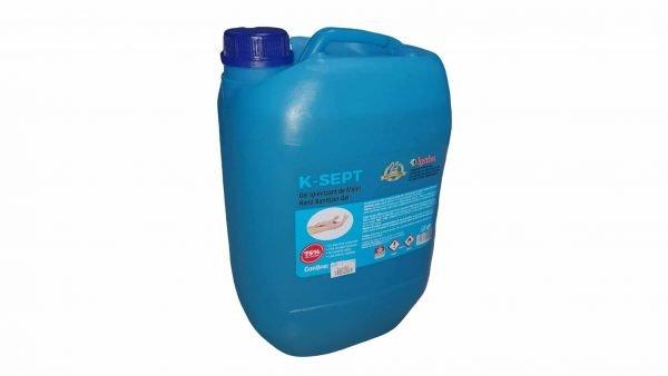 GEL virucid Dezinfectant de maini bidon 10 litri, 75% alcool, cu Aloe Vera si glicerina, avizat
