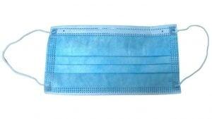 Masca de protectie de unica folosinta, filtrare PFE, 3 straturi, 3 pliuri (50 bucati masti)