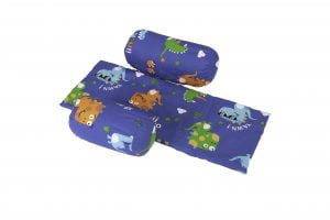 Suport de siguranta cu paturica impermeabila pentru bebelusi model Dinozauri