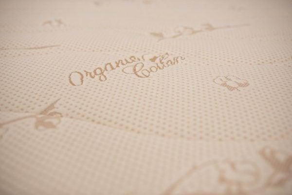 Saltea ortopedica Somnart Ortopedic Bio Cotton 140x200x17cm spuma poliuretanica, husa bumbac organic detasabila si lavabila, fermitate medie