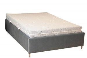 Saltea Ortopedica Somnexpert Silver FORTE, 140x200x20cm, husa cu ioni de argint, hipoalergenica, fermitate ridicata, husa cu ioni de Argint lavabila si detasabila cu fermoar, manere, fermitate mare