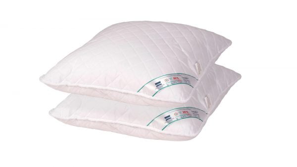Set 2 perne hipoalergenice Somnart HypoallergenicMed, lavabile la 95°C – 40×40