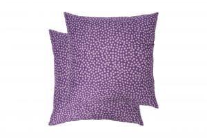 Set 2 perne Somnart Purple Vibe, 70×70 cm, microfibra