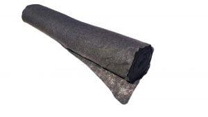 Geotextil Terasin N/S 150 gr/mp, latime 1,5 m, lungime 100 m, 150 mp, negru