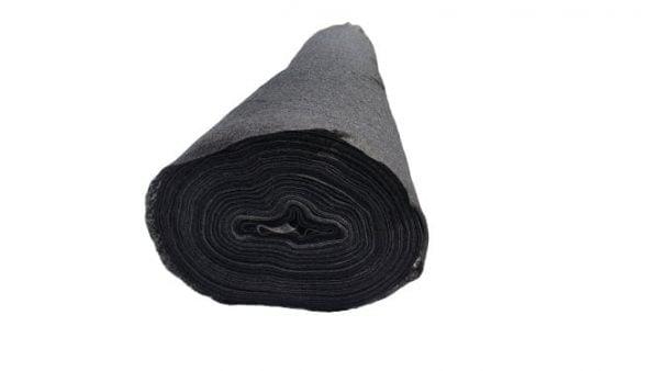Folie / Membrana Geotextil Terasin N/S 150 gr/mp, latime 1,5 m, lungime 100 m, suprafata 150 mp, negru