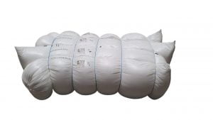 Umplutura siliconizata pentru perne, greutate neta 68 kg/chita comprimata