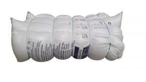 Umplutura pentru perne siliconizata hipoalergenica tip bilute marca SuperBall, greutate neta 68 kg/chita comprimata